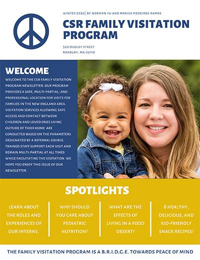 CSR Newsletter Winter 2020 cover